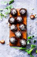 Dietary sweets with chickpeas