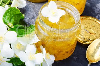 Delicious jasmine jam