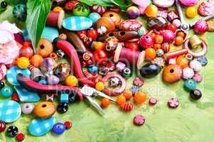 Beads and peony