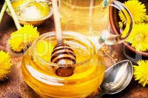 healthy dandelion honey