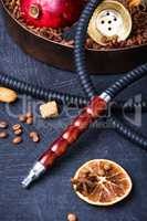 Asian tobacco hookah with coffee aroma