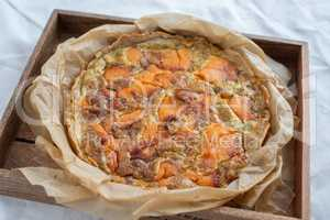 Räucherlachs Quiche