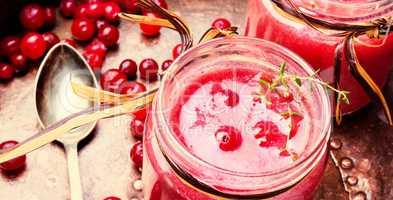 Berry Cranberry Smoothie
