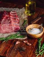 Pork Ribs with Rosemary