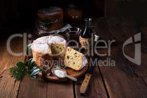 Gluten Free tasty Christmas Panettone Bread