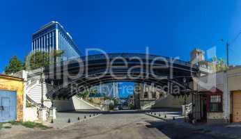 Restored Old Bridge in Odessa Ukraine