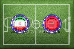 Football, World Cup 2018, Game Group B, Morocco - Iran