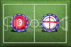 Football, World Cup 2018, Game Group G, Tunisia - England