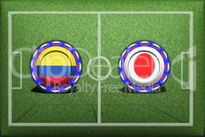Football, World Cup 2018, Game Group H, Colombia - Japan