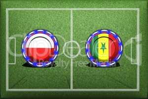 Football, World Cup 2018, game Group H, Poland - Senegal