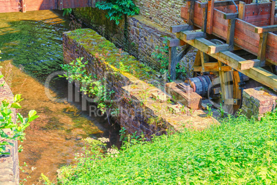 Historically watermill in Germany