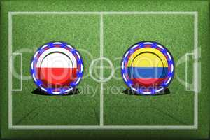 Football, World Cup 2018, Game Group H, Poland - Colombia