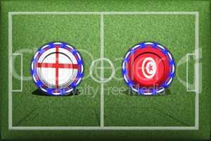 Football, World Cup 2018, Game Group G, Panama - Tunisia