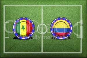 Football, World Cup 2018, Game Group H, Senegal - Colombia