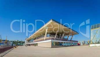 Passenger Terminal in Odessa Sea Port