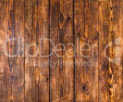 Old wooden panels with cracks and scratches
