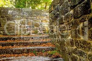 walls of a historic castle