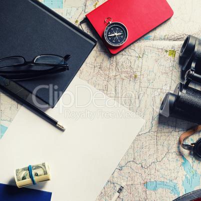 Travel stationery set