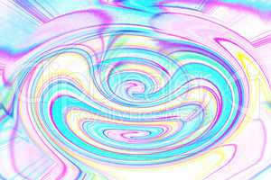 colorful spiral with dynamic movement