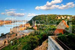 Gellert Hill in Budapest