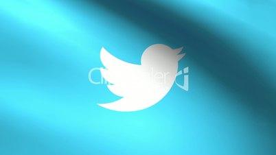Twitter Flag Seamless Loop