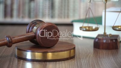 Gavel in Justice Court