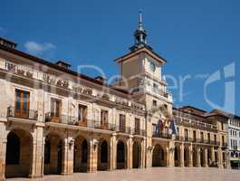 Townhall of Oviedo, Spain