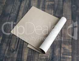 Booklet of kraft paper