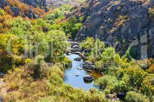 Mertvovod River in Aktovsky Kanyoin Mykolaiv region, Ukraine
