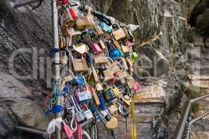locks of love is a custom in some cultures that symbolize their love will be locked forever