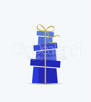 Decorative Christmas presents