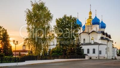 Blagoveshchensk cathedral in the Kazan Kremlin, Russia