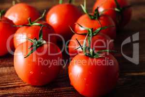 Ripe and Red Tomatoes