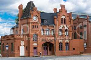 Woerlitzer train station, Dessau,
