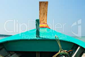 Bow of a Thai boat