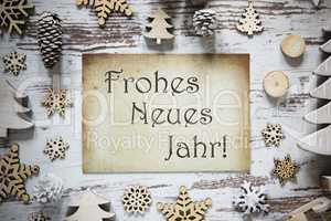 Paper, Frohes Neues Jahr Means Happy New Year