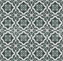 Green Olive spanish tiles pattern