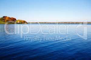 Big lake landscape