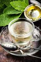 Herbal tea with sage