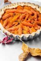 Autumn Diet Vegan Pie