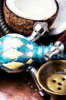 Coconut exotic hookah