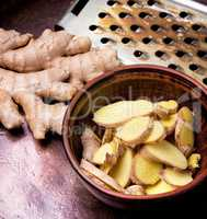 Root of medicinal ginger