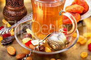 Tea in arab style