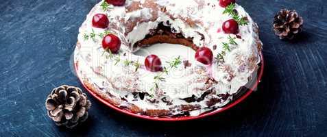sweet cherry cake