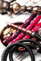hookah shisha with nut
