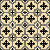 Yellow-Black spanish pattern