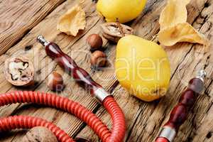 Hookah with aroma pear