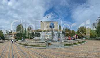 Fountain Parade of Planets in Yuzhny city, Ukraine
