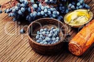 Berries in herbal medicine