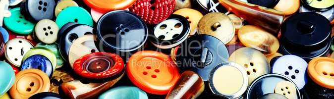 Set sewing buttons